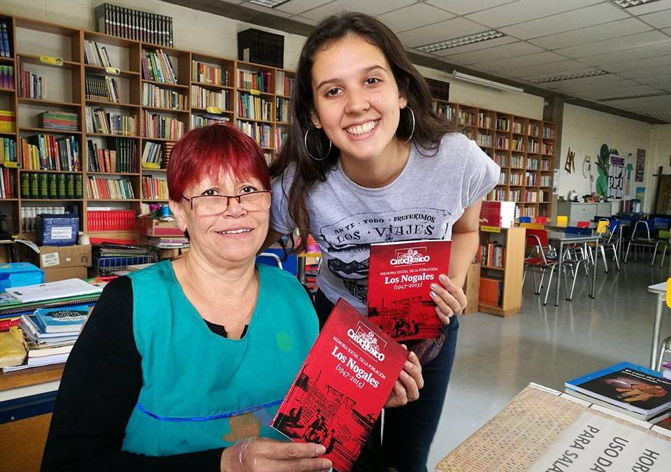 """El libro """"Memoria social de la población Los Nogales"""" ya llegó al Colegio San Alberto"""