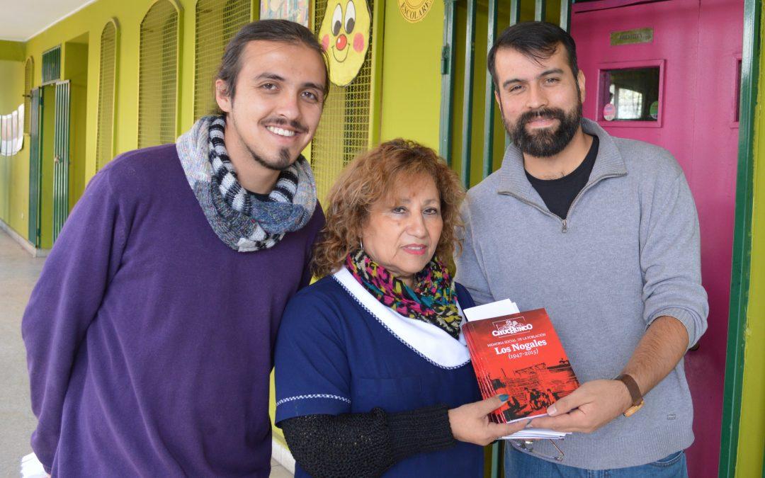 Entrega de libros en la Escuela E-36 Humberto Valenzuela