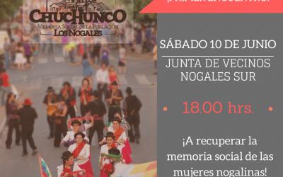 """Para el Proyecto """"Memorias de Chuchunco"""" todos los días son el """"Día del Patrimonio"""""""