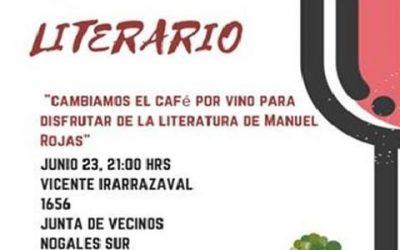 """El 23 de junio… ¡Se viene el Vino Literario de """"Amigos de Nogales""""!"""