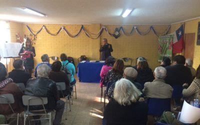 Aniversario Centro Cultural y Taller literario Los Copihues en la JJVV Nogales Norte