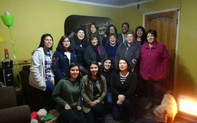 ENTREVISTAS GRUPALES EN LA CASA DE LA FAMILIA PEÑA