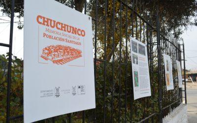 PROYECTO MEMORIAS DE CHUCHUNCO SE SUMA AL DÍA DEL PATRIMONIO
